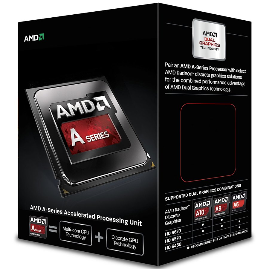 CPU Desktop AMD AD7800YBJABOX AMD CPU Kaveri A10-Series X4 7800 (3.9GHz,4MB,65W,FM2+) box,Radeon TM R7 Series