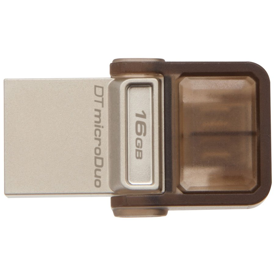 Memory ( USB flash ) KINGSTON DTDUO3/16GB Kingston 16GB DT microDuo USB 3.0/ micro USB OTG, EAN: 740617230734