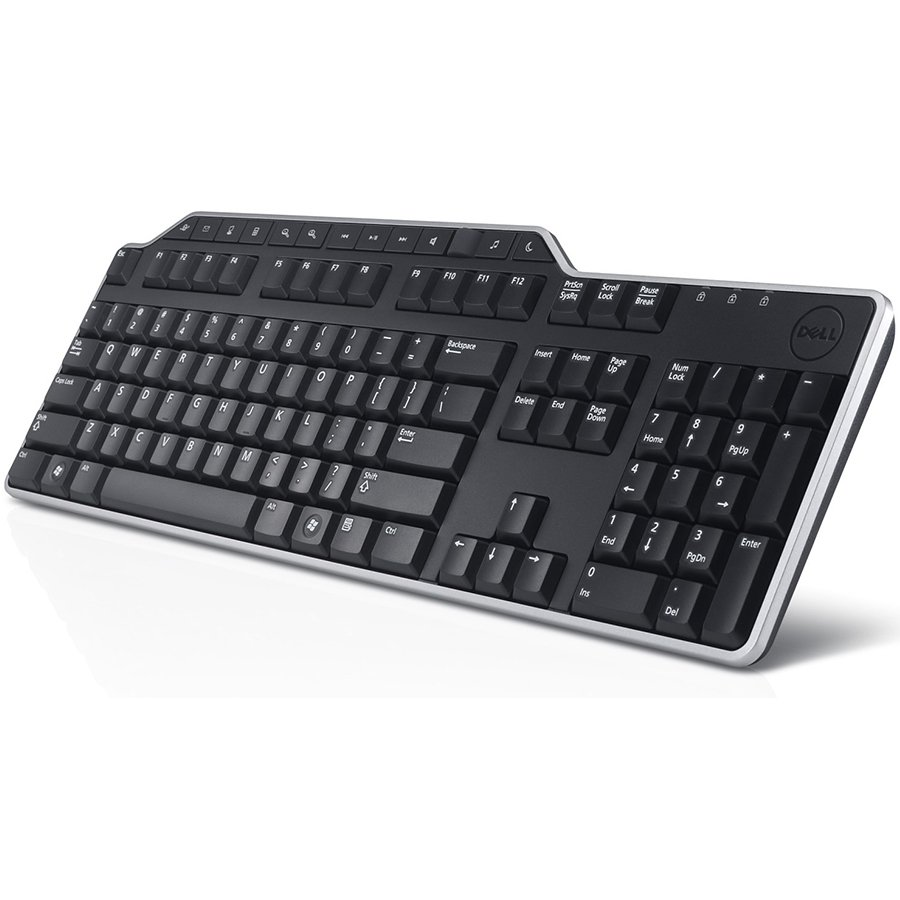Input Devices - Keyboard DELL 580-18366 Dell KB813 Smartcard Keyboard US/European (QWERTY)