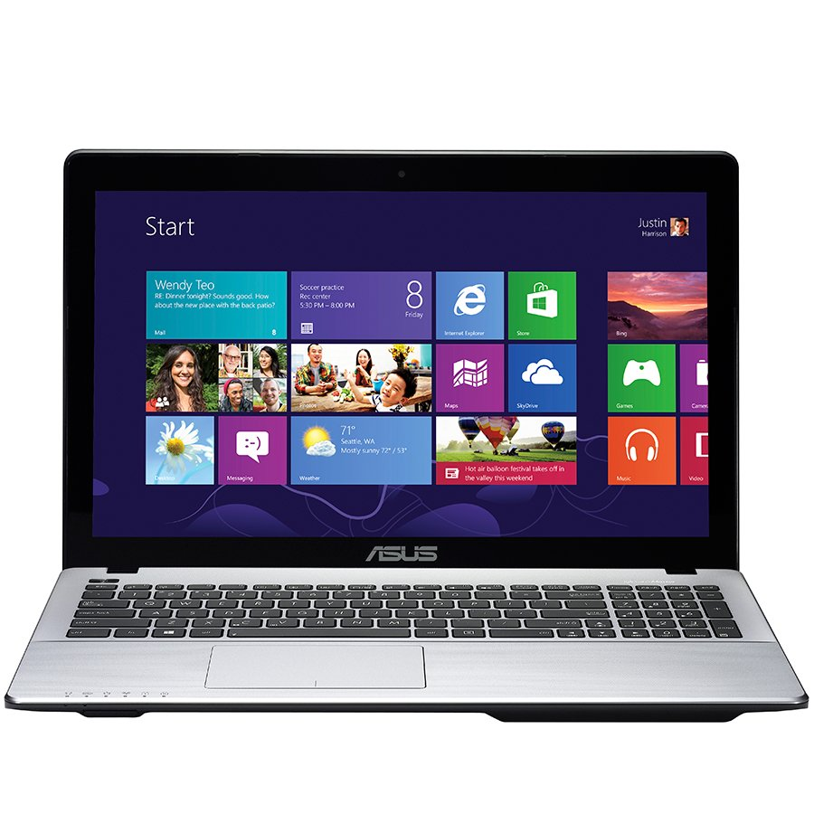 "PC Notebook ASUS F555LN-XO042D 15.6"" HD LED (1366x768),Core i3-4010U up to 1.70GHz, RAM 4GB,HDD 1TB,DVD,GeForce GT840M 2GB DDR3,BT 4.0, FREE DOS,BLACK/SILVER"