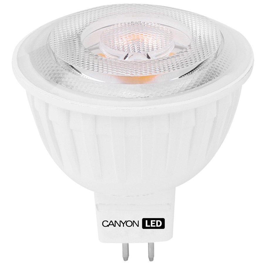 LED Lighting CANYON MRGU5.3/5W12VW60 CANYON MRGU5.3/5W12VW60 LED lamp, MR shape, GU5.3, 4.8W, 12V, 60°, 300 lm, 2700K, Ra>80, 50000 h