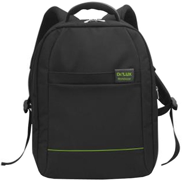 "Carrying Case DELUX DELUX_BACKPACK Backpack Delux  for up to 16"" Notebook, Black"
