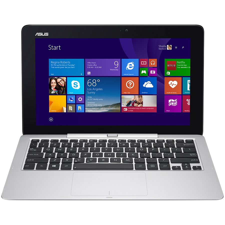 "PC Notebook ASUS T200TA-CP001H TOUCH 11.6"" IPS (1366x768), Intel Atom T-Z3775 QuadCore up to 2.39GHz,RAM 2GB,64GB,Intel HD Graphics Gen7 , BT4.0,MicroUSB, MicroHDMI, MicroSD, Dock: LAN port, 2xUSB3.0, WiFI, 2MP+5MP, GPS, Windows 8.1 32bit + Office 365"