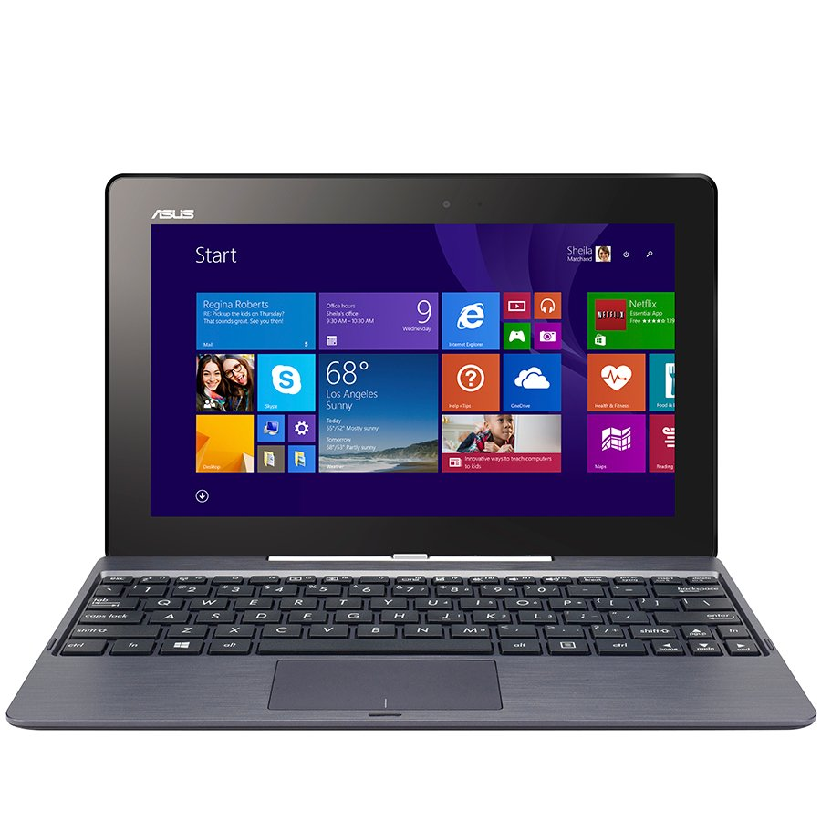 "PC Notebook ASUS T100TAM-BING-DK016B TOUCH 10.1"" IPS (1366x768),Atom T-Z3775 QuadCore,up to 2.39GHz,RAM 2GB, 64GB,Intel HD Graphics Gen7, BT4, Tablet: MicroUSB, MicroHDMI, MicroSD, AudioJack, Dock: 1xUSB,WiFI, 1.2MP, camera, G-sensor,Windows 8.1 Bing with"