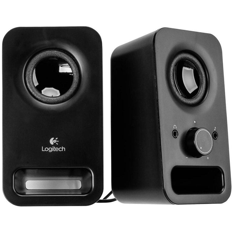 Multimedia - Audio System LOGITECH 980-000814 LOGITECH z150 Multimedia Speakers - MIDNIGHT BLACK - 3.5 MM - EU