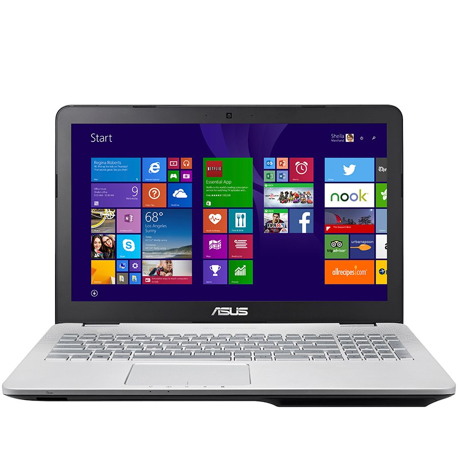 "PC Notebook ASUS N551JK-CN112D 15.6"" FHD IPS (1920x1080) ,i7-4710HQup to 3.5GHz,RAM 4GB,HDD 1TB,DVD,GeForce GTX850M 2GB,BT 4.0+WiDi,Illuminated Keyboard,3xUSB,HD WebCam,HDMI,DP,FREE DOS"