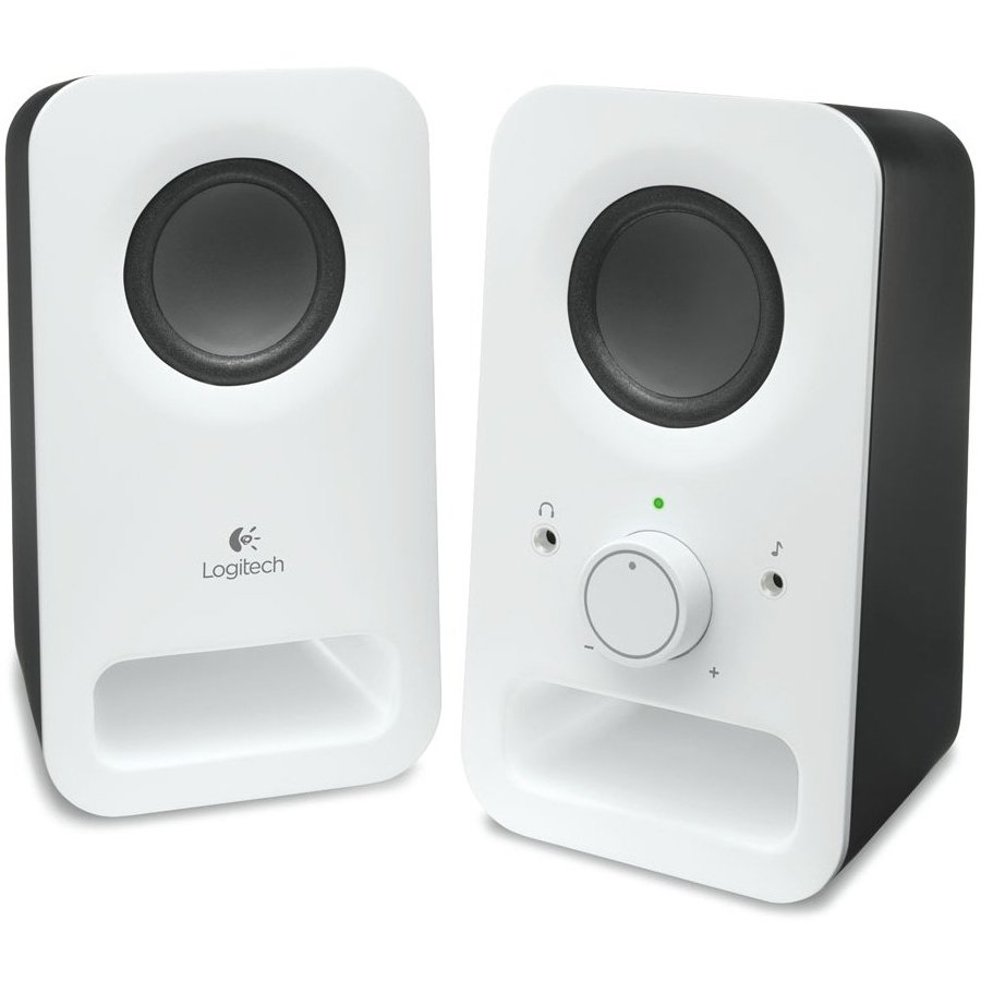 Multimedia - Audio System LOGITECH 980-000815 LOGITECH z150 Multimedia Speakers - SNOW WHITE - 3.5 MM - EU