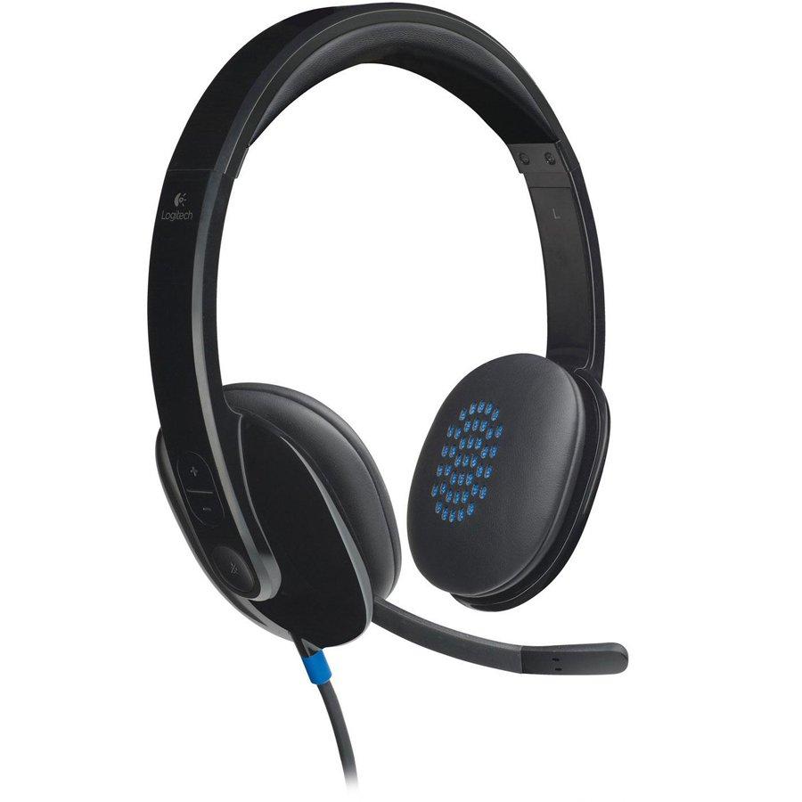 Multimedia - Headset LOGITECH 981-000480 LOGITECH USB Headset H540 - USB - EMEA