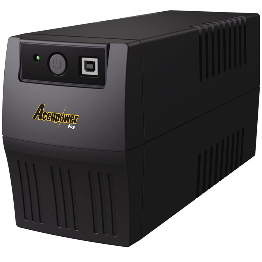 Power - UPS ACCUPOWER ISY1200 Accupower Line-Interactive UPS Isy 1200VA / 600W