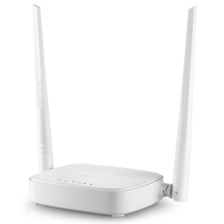 Networking - Router TENDA N301 Wireless Router N301, 300Mbps, 2x5dbi fixed antennas, 1x10/100Mbps WAN Port, 3x10/100Mbps LAN ports; 2.4GHZ, DHCP, PPPoE, Static IP, PPTP, L2TP, WPS, WISP, Universal Repeater
