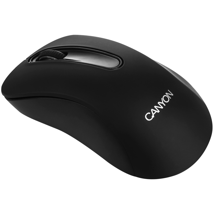 Input Devices - Mouse Box CANYON CNE-CMSW2 CANYON Mouse CNE-CMSW2 (Wireless, Optical 800 dpi, 3 btn, USB), Black