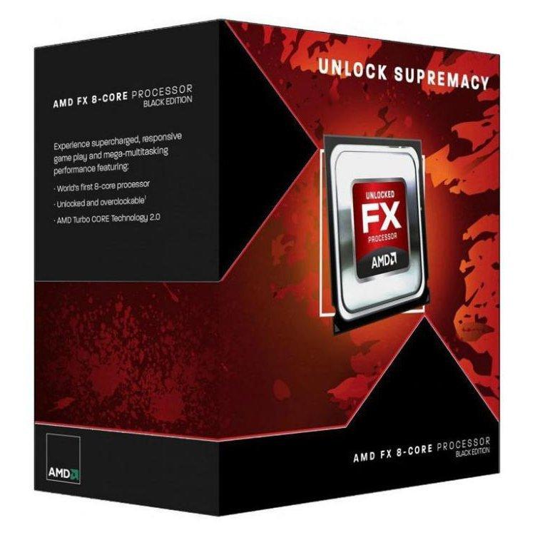 CPU Desktop AMD FD8300WMHKBOX AMD CPU Desktop FX-Series X8 8300 (3.3GHz,16MB,95W,AM3+) box