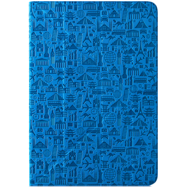 "PC Tablet Cases CANYON CNS-C24UT8BL ""Life is"" universal case for 8"" tablet (Color:Blue)"