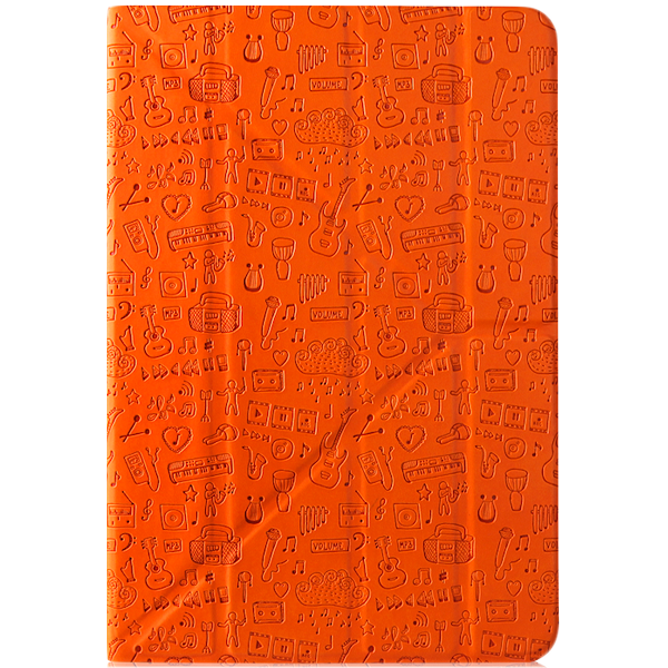 "PC Tablet Cases CANYON CNS-C24UT8O ""Life is"" universal case for 8"" tablet (Color:Orange)"