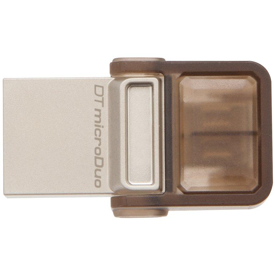 Memory ( USB flash ) KINGSTON DTDUO/16GB Kingston  16GB DT MicroDuo USB 2.0 + microUSB (Android/OTG), EAN: '740617229189