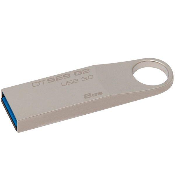 Memory ( USB flash ) KINGSTON DTSE9G2/8GB Kingston  8GB USB 3.0 DataTraveler SE9 G2 (Metal) 100MB/s read, EAN: '740617237542