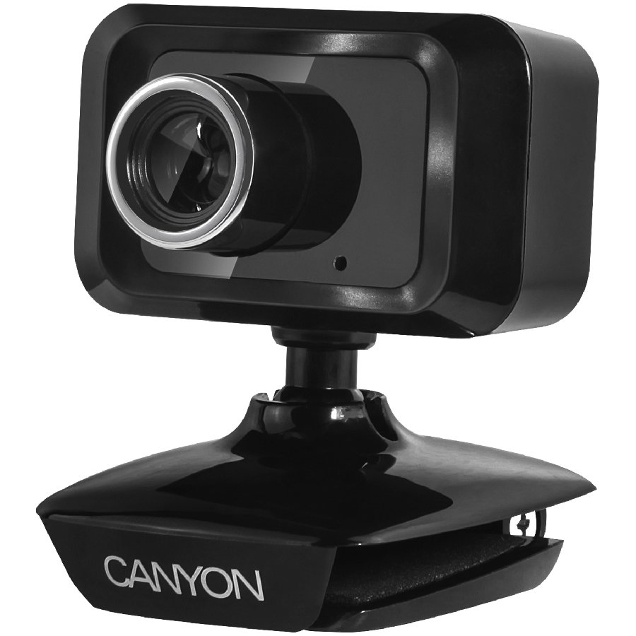 Web Camera CANYON CNE-CWC1 Enhanced 1.3 Megapixels resolution webcam with USB2.0 connector