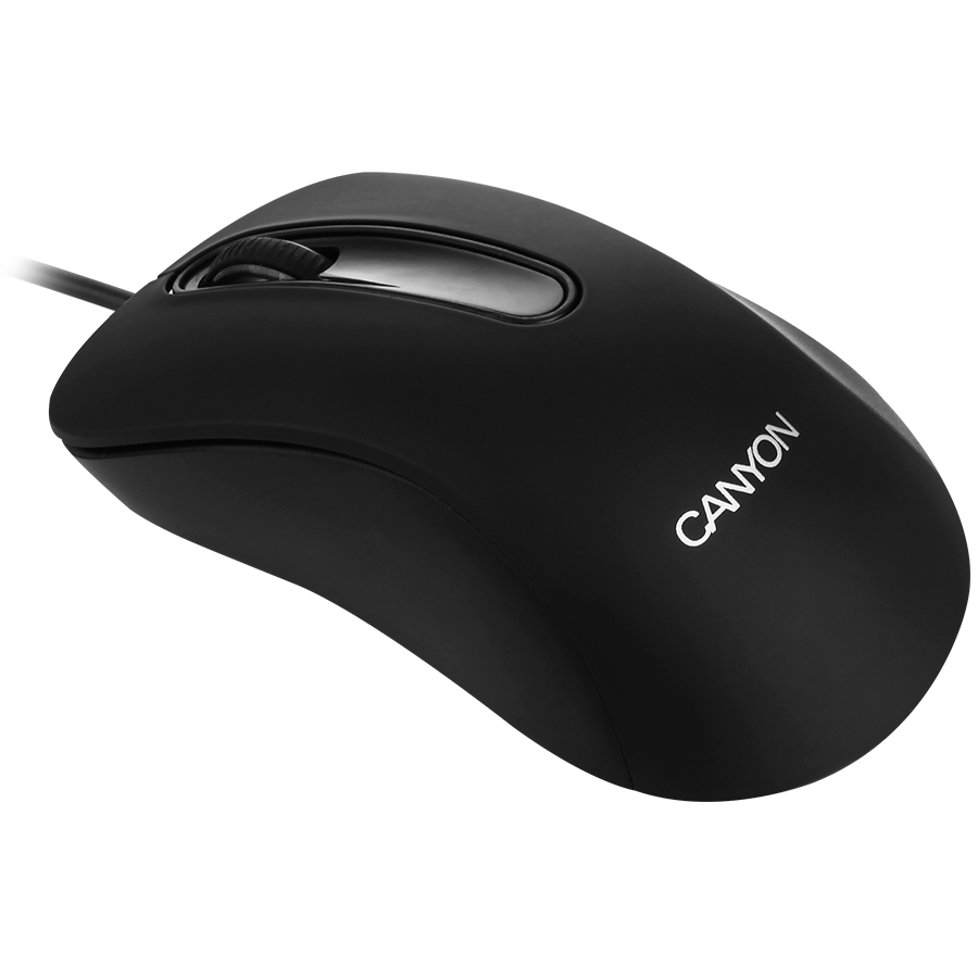Input Devices - Mouse Box CANYON CNE-CMS2 CANYON Mouse CNE-CMS2 (Wired, Optical 800 dpi, 3 btn, USB), Black