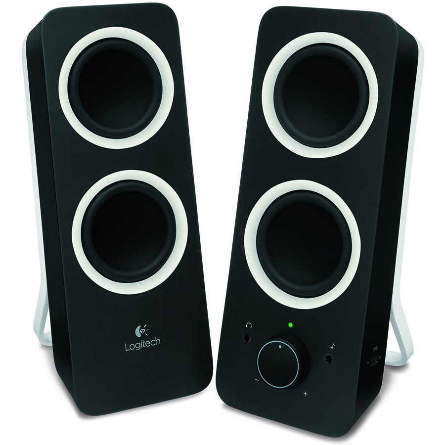 Multimedia - Audio System LOGITECH 980-000810 LOGITECH Audio System 2.0 Z200 - EU - MIDNIGHT BLACK