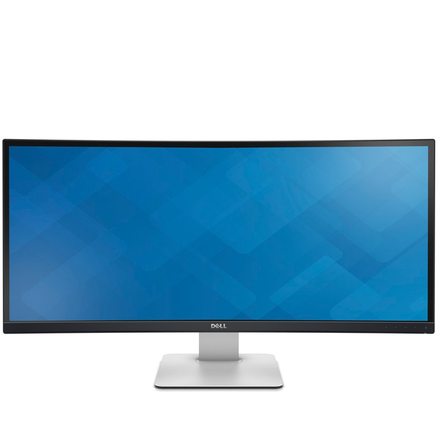 Monitor LED DELL U3415W-14 Dell U3415W UltraSharp 34'' in Curved Monitor, Widescreen (21:9), anti glare, 3440 x 1440, 1000:1, 300 cd/m2, 5ms, 178° vertical / 172° horizontal,Height-adjustable stand, tilt, swivel,HDMI, MHL, mini DP, DP, 4xUSB, SPK, Black/