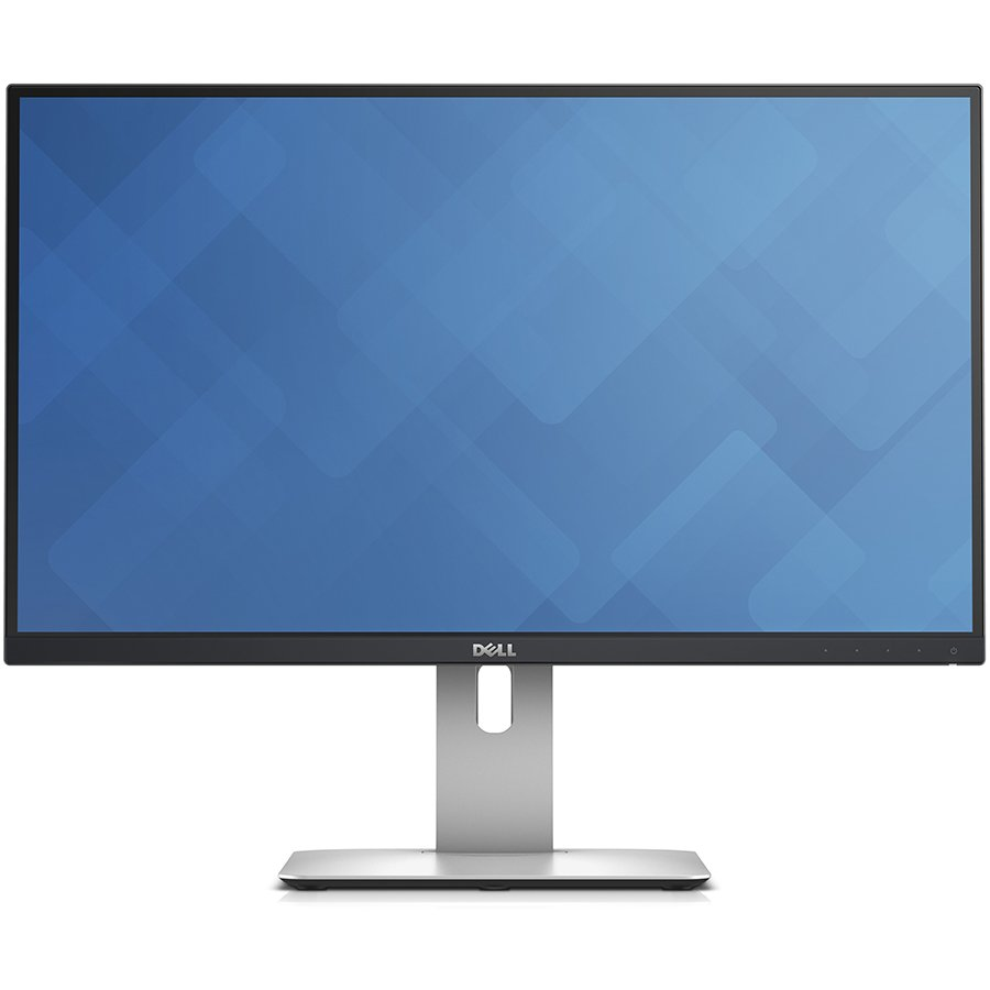 Monitor LED DELL U2515H-14 Dell U2515H UltraSharp 25'' Wide LED, IPS Anti-Glare Panel, UltraSharp, 6ms, 2000000:1 DCR, 350 cd/m2, 2560x1440, HDMI, MHL, DisplayPort, USB3.0 Hi-Speed Hub, Height Adjustable, Pivot, Swivel, Black