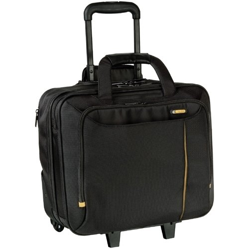 "Carrying Case DELL 460-11571-14 Meridian II Roller Laptop Case - Fits Laptops with Screen Sizes Up to 40cm (15.6"") - Black"