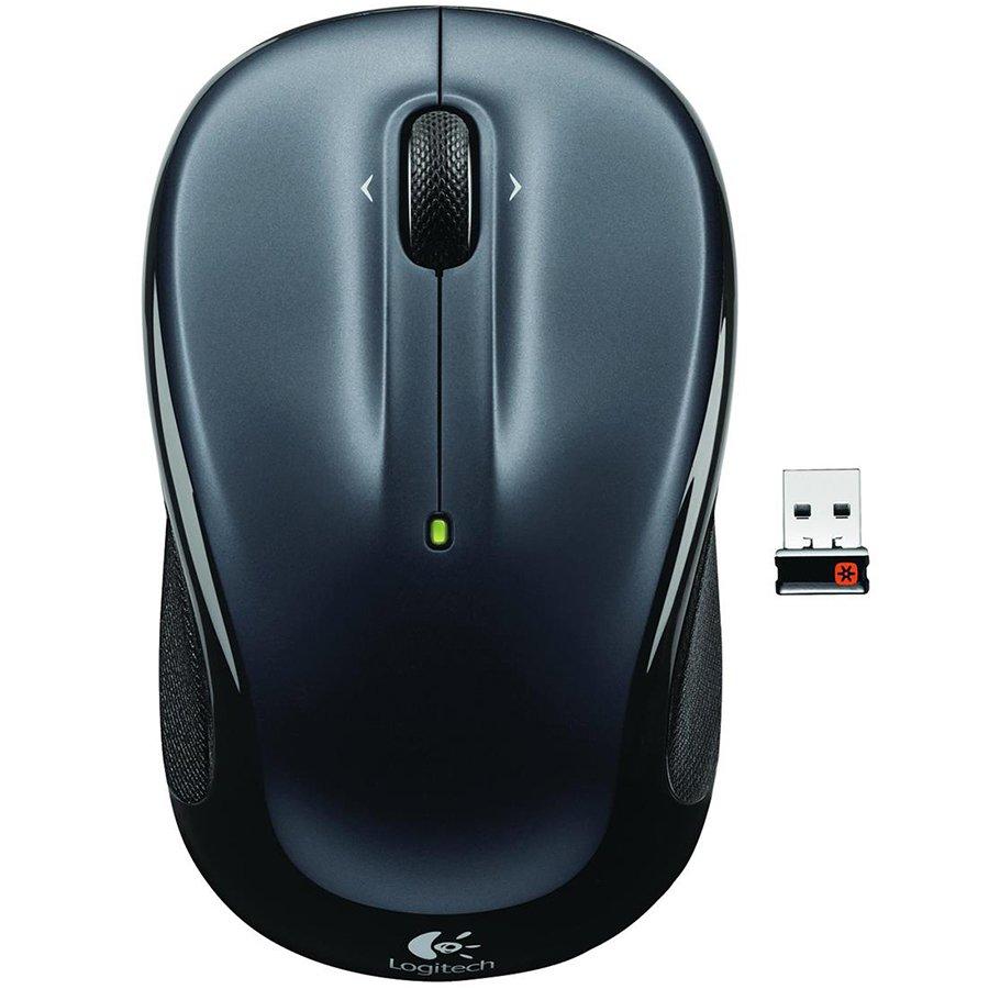 Input Devices - Mouse Box LOGITECH 910-002142 LOGITECH Wireless Mouse M325 - EMEA - DARK SILVER