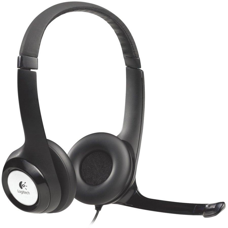 Multimedia - Headset LOGITECH 981-000406 LOGITECH Corded USB Headset H390 - EMEA