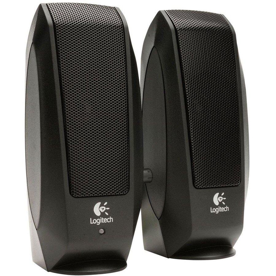 Multimedia - Audio System LOGITECH 980-000010 LOGITECH Audio System 2.0 S120 - Business EMEA - BLACK