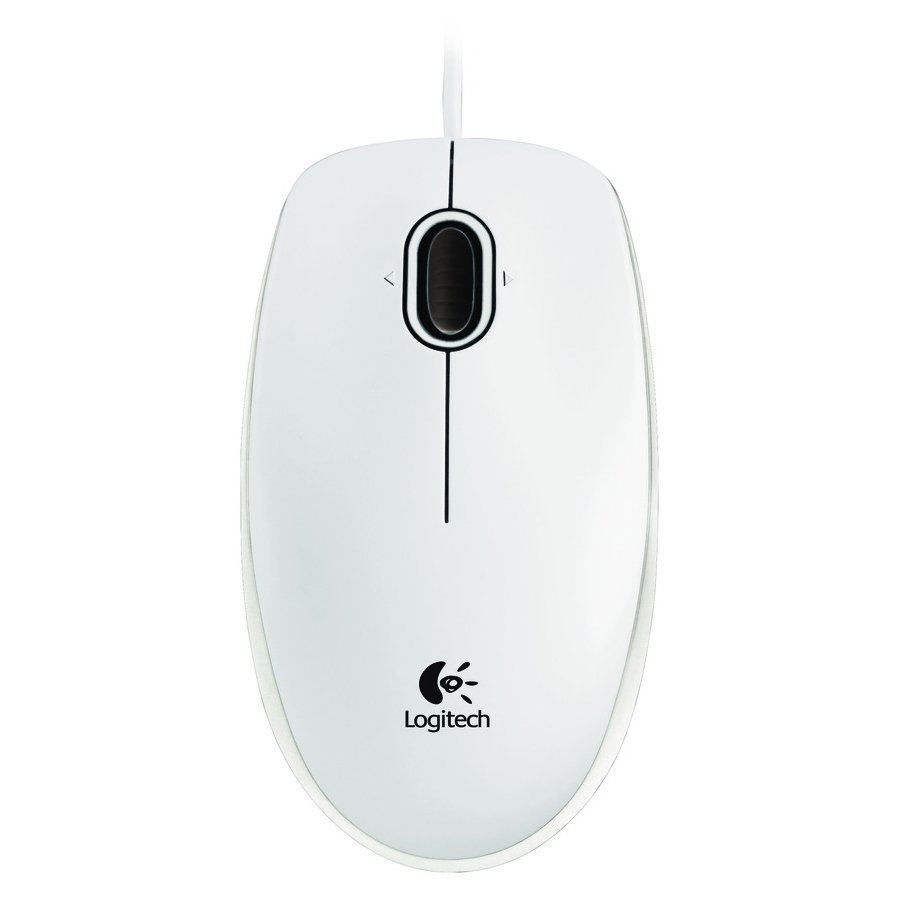 Input Devices - Mouse LOGITECH 910-003360 LOGITECH Corded  Mouse B100 - Business EMEA - WHITE