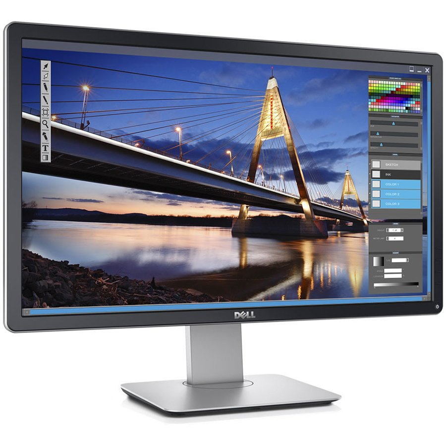 Monitor LED DELL P2416D-14 Monitor LED DELL Professional P2416D 23.75'', 2560x1440, QHD, IPS Antiglare, 99% sRGB, 6ms fast mode, 16:9, 1000:1, 2000000:1 DCR, 300 cd/m2, 178/178, DP 1.2, HDMI 1.4, VGA, 4xUSB2.0, Tilt,Swivel, Pivot, Height Adj., Security lo