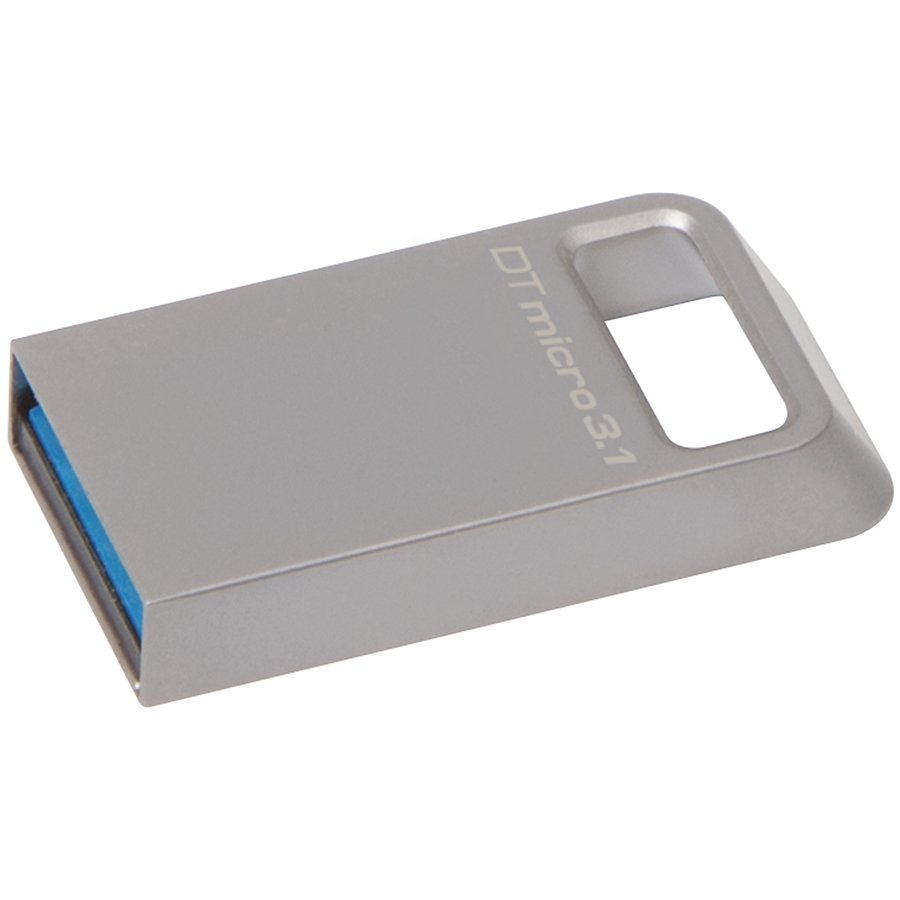 Memory ( USB flash ) KINGSTON DTMC3/16GB Kingston 16GB DTMicro USB 3.1/3.0 Type-A metal ultra-compact flash drive, EAN: 740617242775