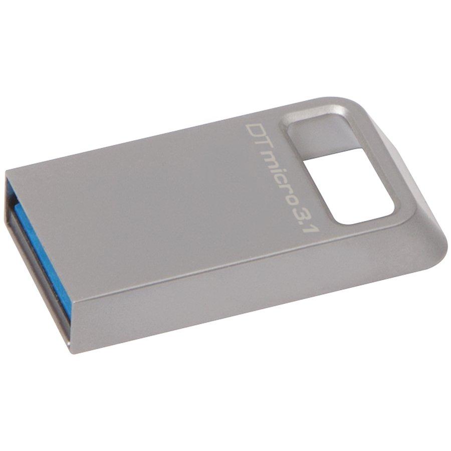 Memory ( USB flash ) KINGSTON DTMC3/16GB Kingston  16GB DTMicro USB 3.1/3.0 Type-A metal ultra-compact flash drive, EAN: '740617242775