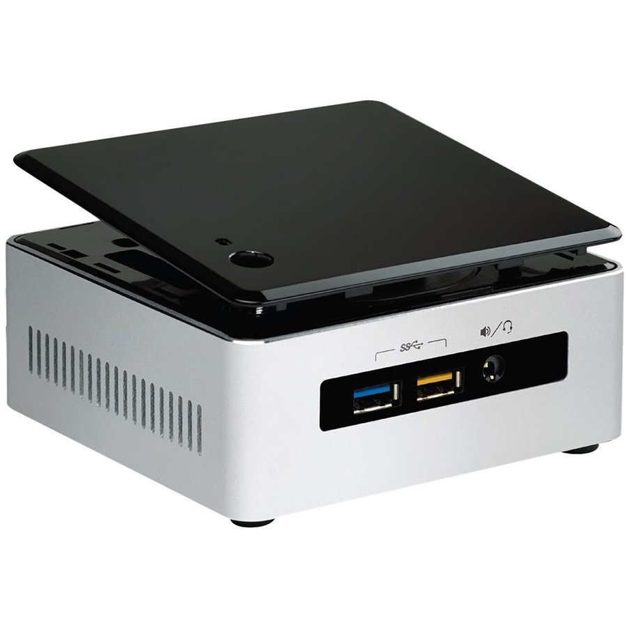 "PC Barebone INTEL BOXNUC5CPYH Intel NUC kit, Celeron  N3050 (2M Cache, up to 2.16 GHz), 2.5"" HDD/SSD Support, uCFF, 1x DDR3L 1333/1600, 1.35V SODIMM, 8Gb, VGA Intel HD Graphics, VGA (HDB15); HDMI 1.4b,  GbE, Intel Wireless-AC 3165 + BT 4.0"