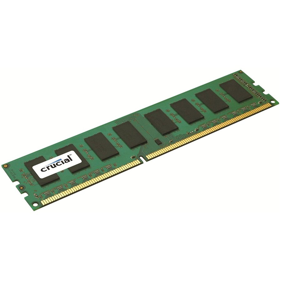 Memory ( Desktop ) CRUCIAL CT51264BD160BJ Crucial RAM 4GB DDR3L 1600 MT/s (PC3L-12800) CL11 Unbuffered UDIMM 240pin 1.35V/1.5V Single Ranked