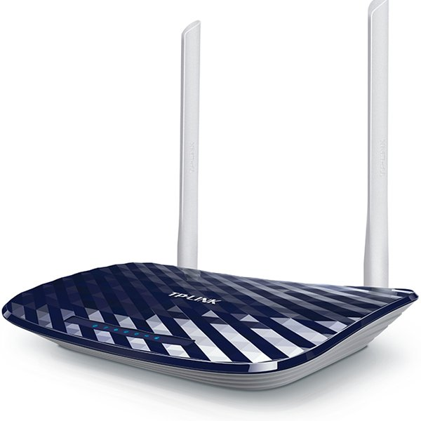 Networking - Router TP-LINK ARCHER-C20 TP-LINK AC750 Dual Band Wireless Router, Mediatek, 433Mbps at 5GHz + 300Mbps at 2.4GHz, 802.11ac/a/b/g/n,1 10/100M WAN + 4 10/100M LAN, Wireless On/Off, 1 USB 2.0 port, 2 fixed antennas