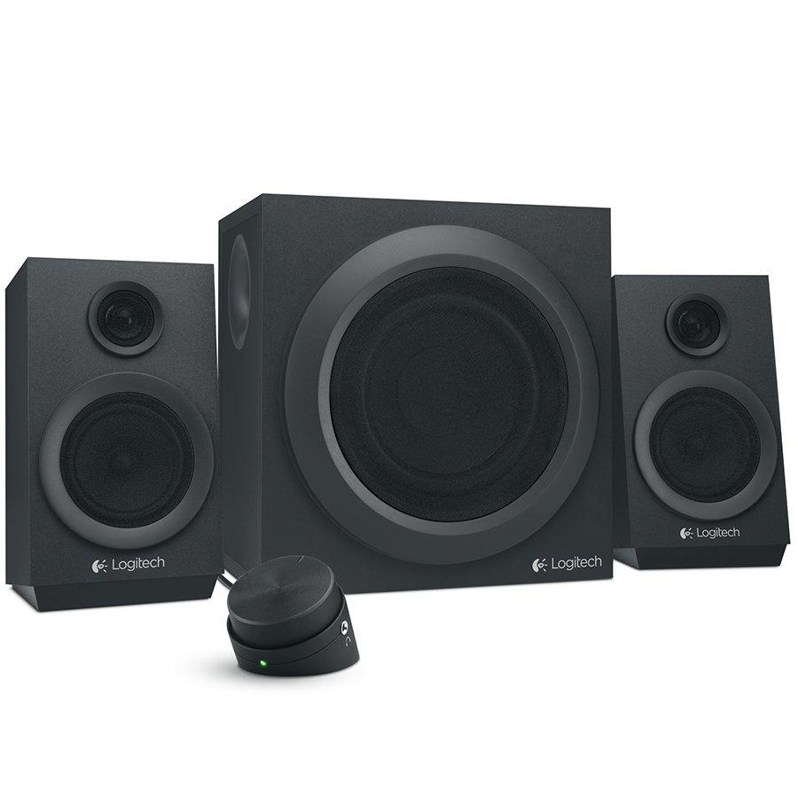 Multimedia - Audio System LOGITECH 980-001202 LOGITECH Audio System 2.1 Z333 - EMEA28 - BLACK