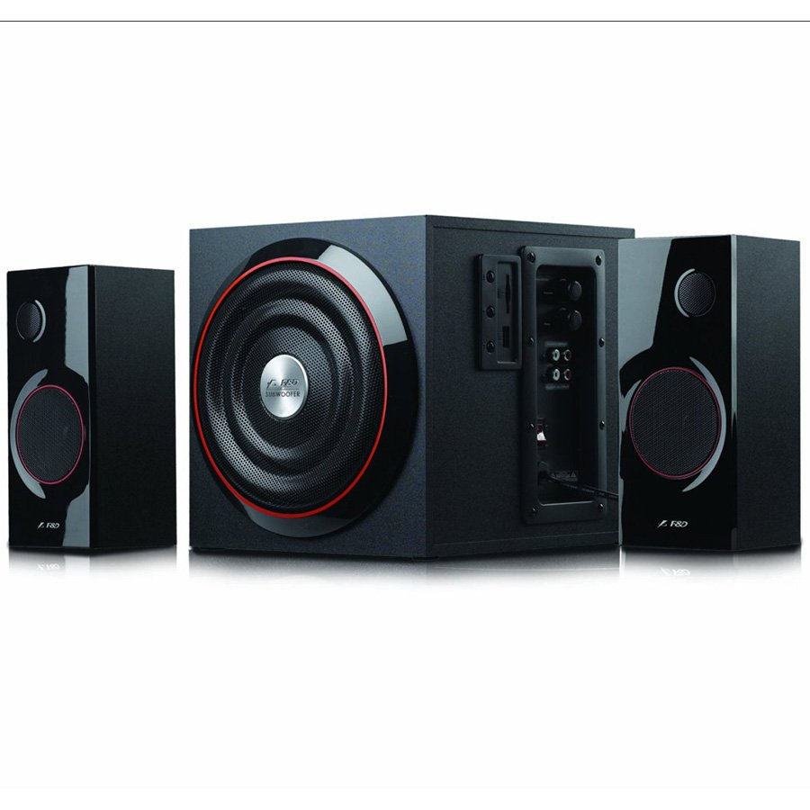 "Multimedia - Speaker FENDA A333U Multimedia - Speaker F&D A333U 42w (14w*2+14w), 4"" full range driver for Satellites,Powerful 6.5""Heavy duty Subwoofer, 2.1 channel with usb port, Plug & play USB/CARD (SD/MMC/MS) reader"