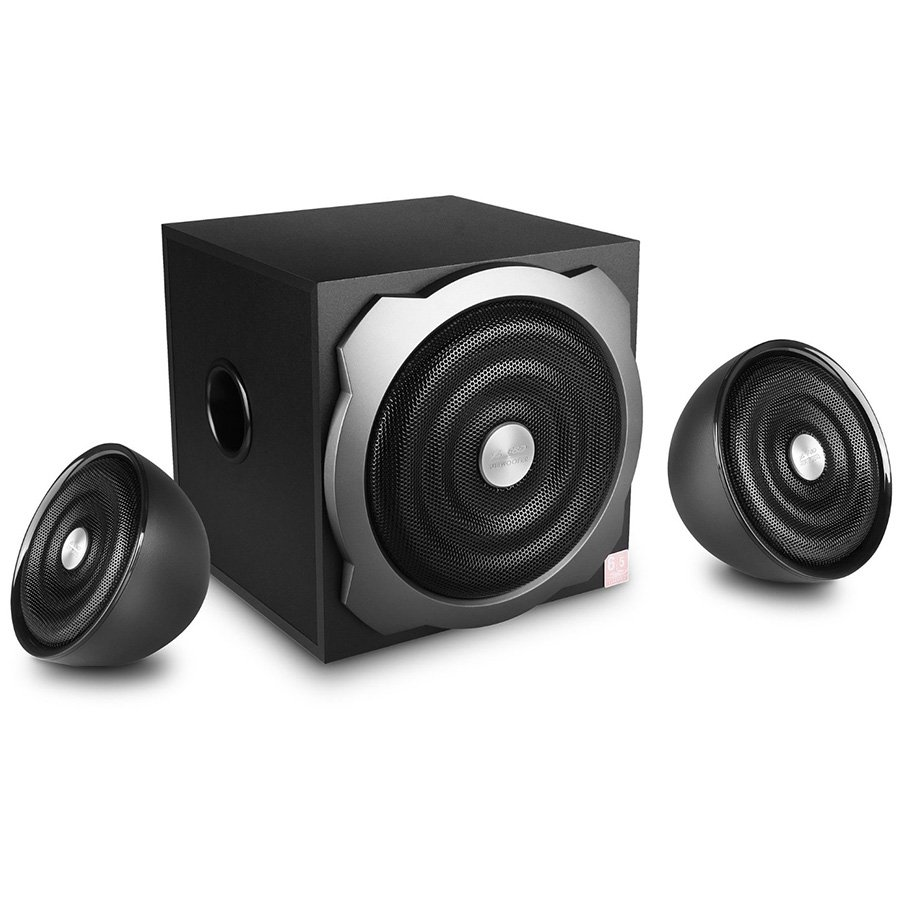 "Multimedia - Speaker FENDA A510_F Multimedia - Speaker F&D A510 52w (16w*2+20w), 4"" full range driver for satellite speakers,6.5"" heavy duty subwoofer speaker"