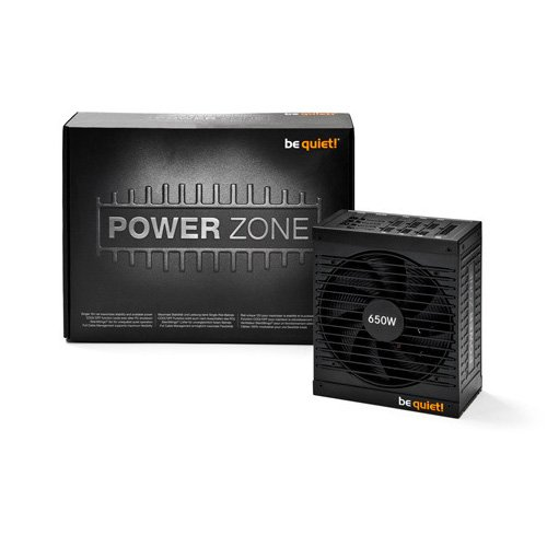 Power Supply Unit BE QUIET BN212 Be Quiet! POWER ZONE 850W - 80 Plus Bronze, Silent Wings, Cable Management, 5 Years Warranty