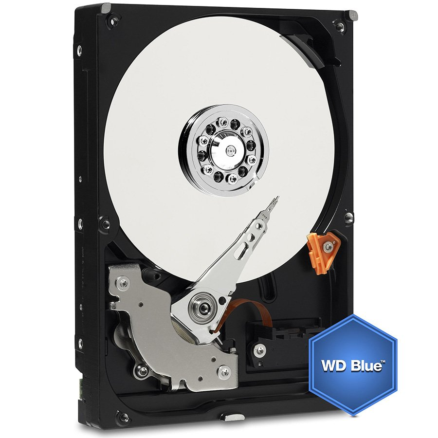HDD Desktop WESTERN DIGITAL WD10EZRZ HDD Desktop WD Blue (3.5'', 1TB, 64MB, 5400 RPM, SATA 6 Gb/s)