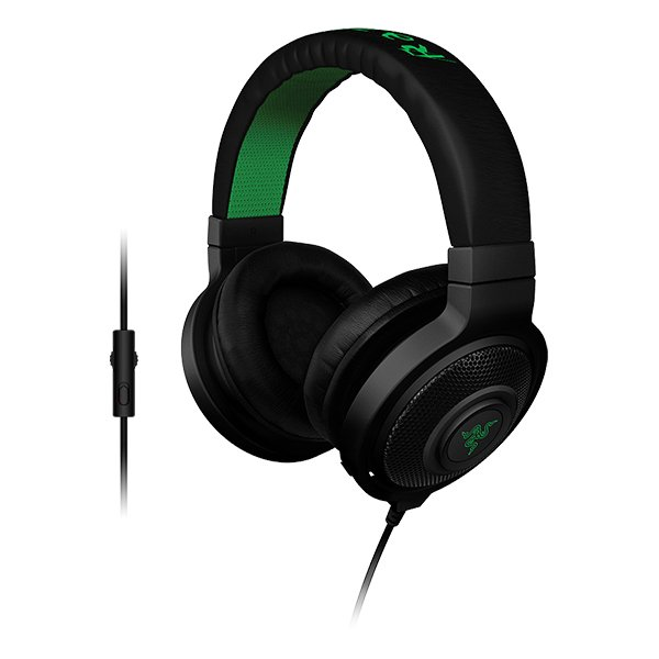 Multimedia - Headset RAZER RZ04-01380100-R3M1 Razer Kraken Pro 2015 (Black) - Analog Gaming Headset ,Optimized weight for extended wear,In-line controls and fully-retractable microphone for easy access,powerful drivers and sound isolation for highest-qual