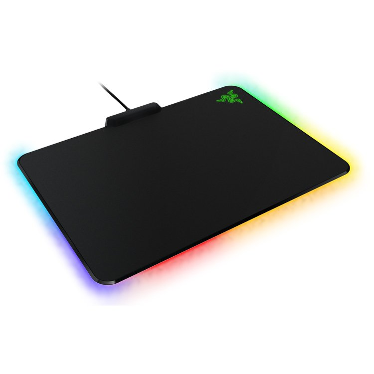 Mouse Pad RAZER RZ02-01350100-R3M1 Razer Firefly - Hard Gaming Mouse Mat, Micro-textured surface for both speed and control playstyle,16.8 million customizable color options,optimized for all sensitivity settings and sensors.