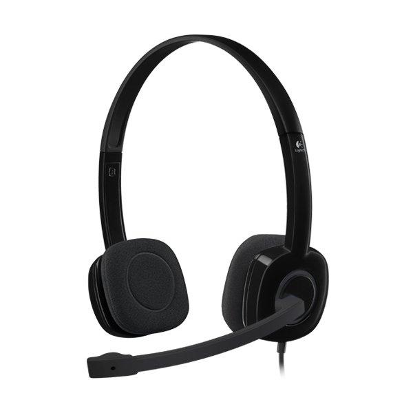 Multimedia - Headset LOGITECH 981-000589 LOGITECH Stereo Headset H151 – EMEA - One Plug