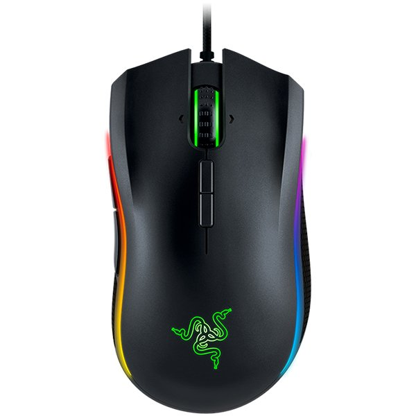 Input Devices - Mouse Box RAZER RZ01-01370100-R3G1 Razer Mamba Tournament Edition - 16,000 DPI 5G laser sensor,up to 210 inches per second / 50 G acceleration, 1 ms response time,On-The-Fly Sensitivity Adjustment,chroma lighting with true 16.8 million cus