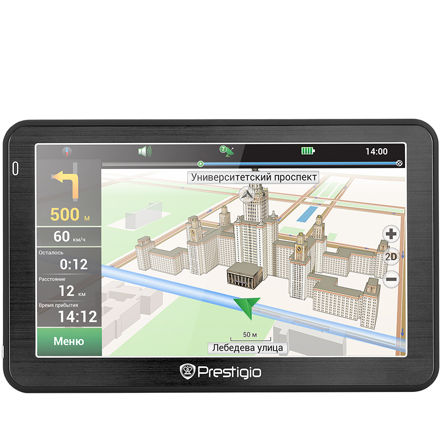 "GPS Navigator PRESTIGIO PGPS5058BG04GBNV Prestigio GeoVision 5058, 5.0"", CPU MSTAR 2531 800 MHz, 480х272, 4 GB, 128 MB RAM, 950 mAh, FM, Black, Metal frame; Navitel software, preinstalled BG map ( 1 country), Free Lifetime Map Update"