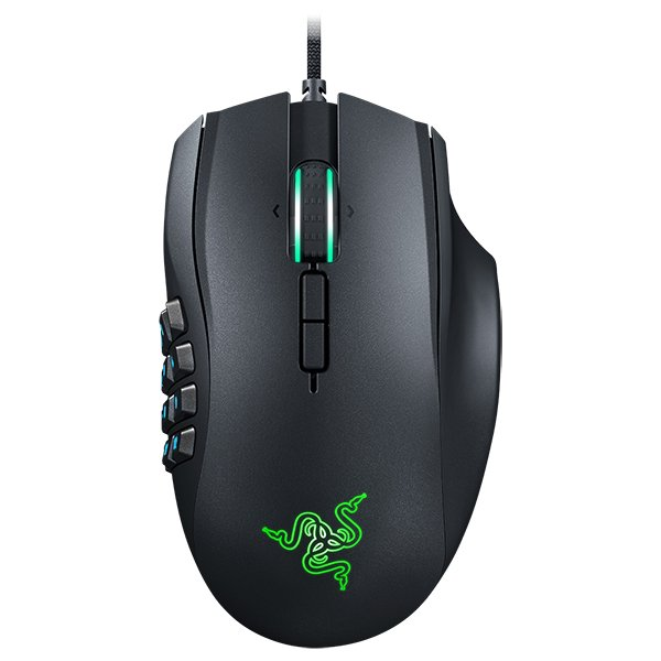 Input Devices - Mouse Box RAZER RZ01-01610100-R3G1 Razer Naga Chroma - Multi-color MMO Gaming Mouse,19 MMO optimized programmable buttons, 12 button mechanical thumb grid,16,000 DPI 5G Laser Sensor, 210 inches per second,50 G acceleration,Chroma lighting