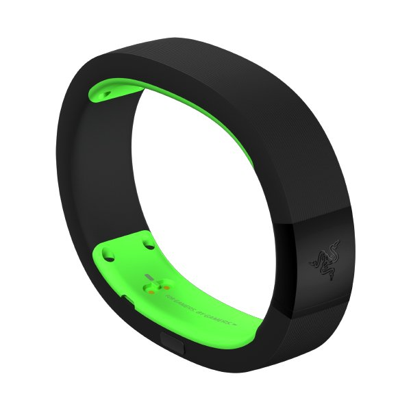 Smartphone Accessories RAZER RZ15-01520600-R3G1 Razer Nabu 2015 Smartband - Green - Medium/Large, DISPLAY and SensorOLED 128x16 single color,3-axis accelerometer,Cylindrical vibration, Rain, sweat, and splash proof. motor