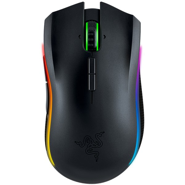Input Devices - Mouse Box RAZER RZ01-01360100-R3G1 Razer Mamba 16000 - Wireless Multi-color Ergonomic Gaming Mouse,16,000 DPI 5G laser sensor,Up to 210 inches per second / 50 G acceleration,Ergonomic right-handed design with textured rubber side grips
