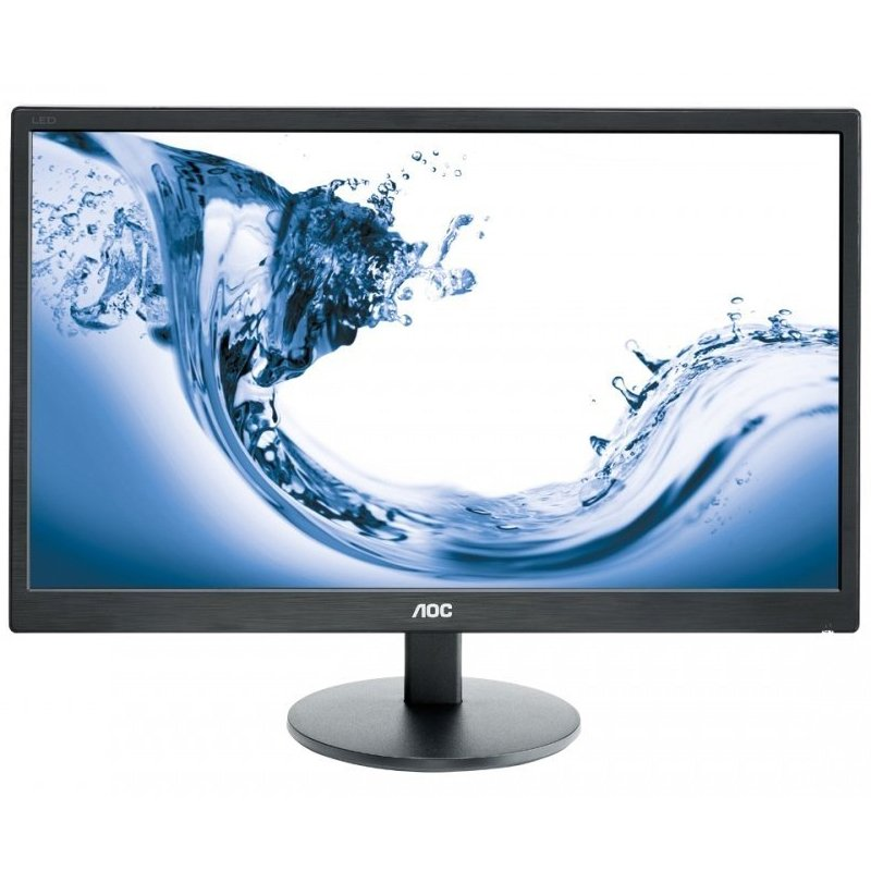 Monitor LED AOC E2770SH Monitor LED AOC Value-Line E2770SH (27'', TN, 16:9, 1920x1080, 1ms, 20M:1,  170/160, 300 cd/m2, VGA, DVI, HDMI, Speakers, VESA) Black
